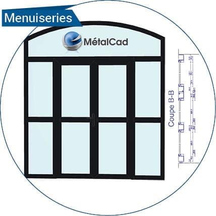 logiciel menuiserie metalcad