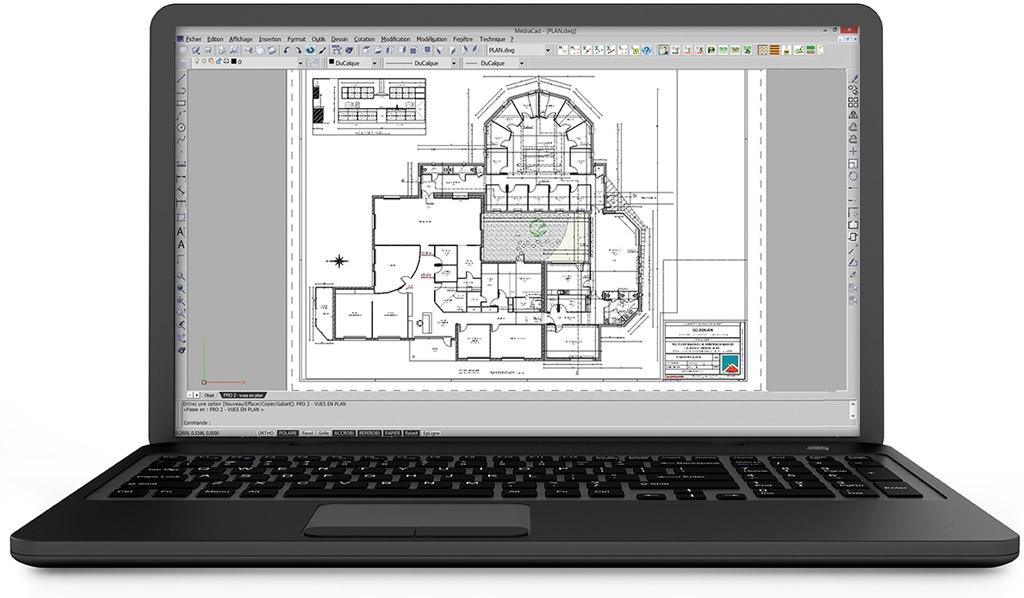 tablette logiciel menuiserie