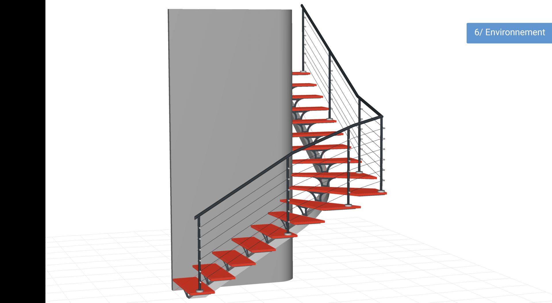 Creation D Une Tremie Escalier logiciel professionnel de conception d'escaliers 3d - métalcad