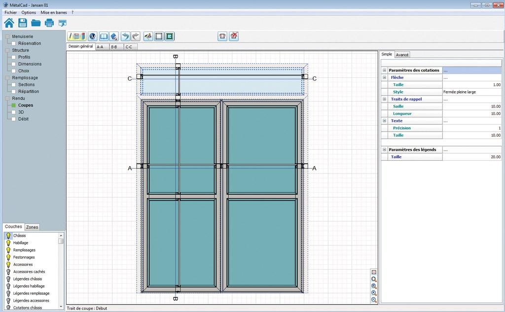 logiciel professionnel de conception menuiserie 3d