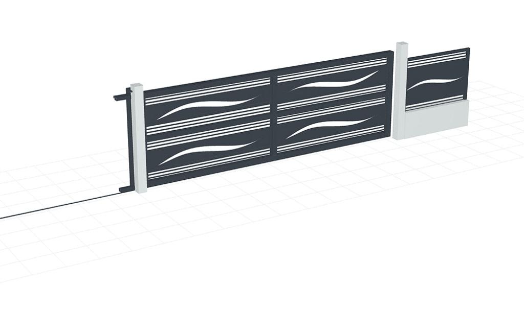 logiciel professionnel de conception de portails 3d