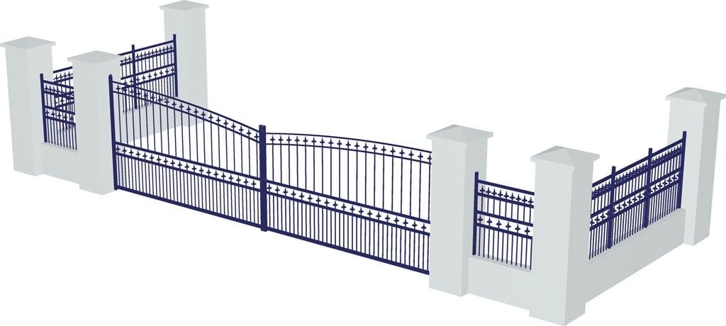 Vectorisation de plan de clôture