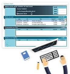 MétalContacts, factures, devis, commandes