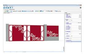 MétalCad, vue 3D, plan portail, plan clôture