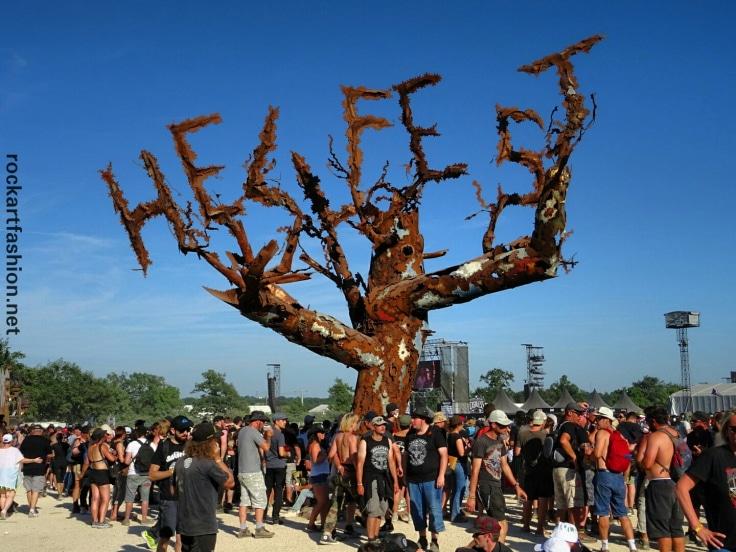 arbre métal Hellfest Jean-François BUSSON
