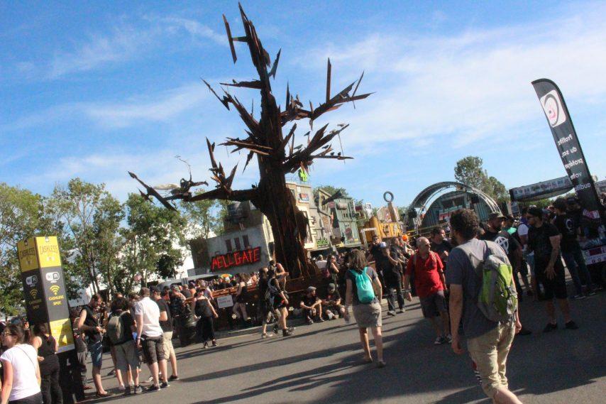 arbre métal Hellfest